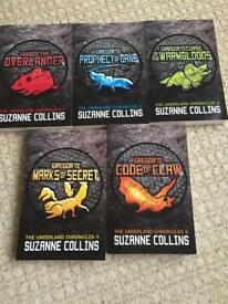 Suzanne Collins The Underground Chronicles books 1-5.