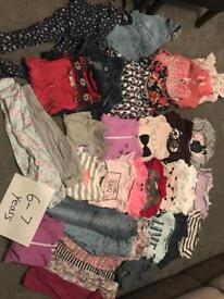 Girls bundle 6-7 years