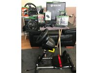 Xbox one Elite. 1Tb. 2x ThrustMaster wheels. Swap rc or WHY