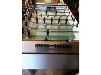 football table 6 x3. as new only used 5 times. cost £400 new