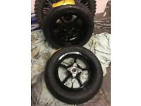 Continental supermoto pit bike racing tyres and wheels
