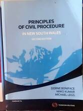 Principles of civil procedure, NSW 2nd,amazing price n condition! Haymarket Inner Sydney Preview