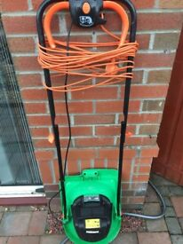 Small hover mower from Homebase