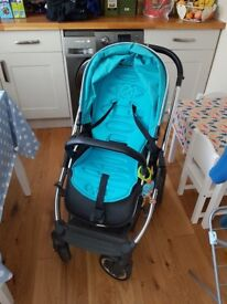 Oyster 2 pram with carrycot