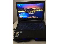 Gaming Laptop 15,6inch 16GB RAM, NVIDIA 1070 8GB VRAM.