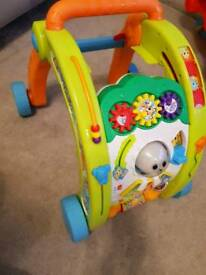 Little tikes light n go baby walker 3 in 1 activity centre