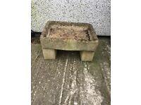Stone trough / sink