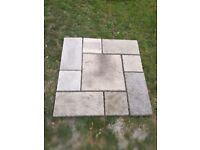 Old york paving slabs