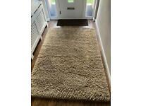 Large cram/beige rug