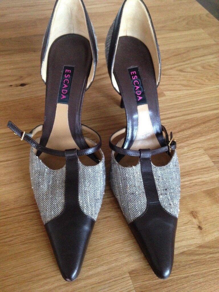 Escada high heels size 6 new