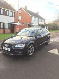 Audi A3 2.0 tfsi black edition 245 bhp
