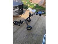 Icart duo 3 wheel golf trolley