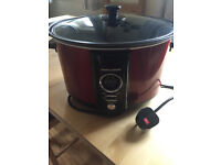 Morphy Richards 6.5L Red Slow Cooker