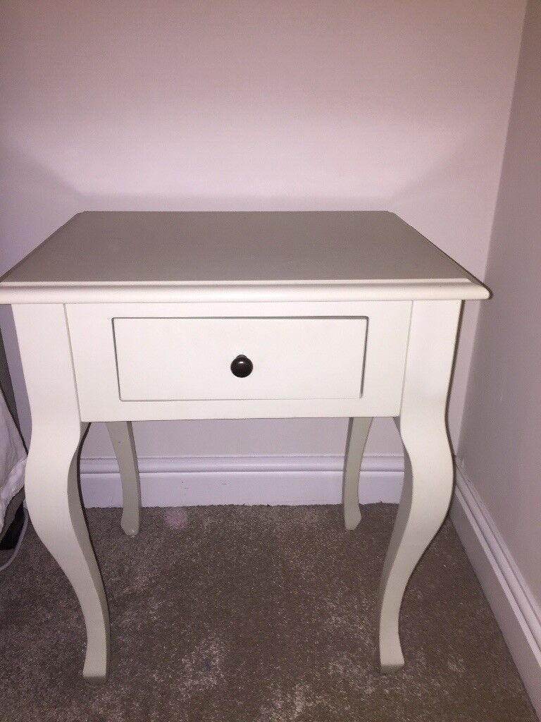 Cream Bedside Tables: Laura Ashley Cream Bedside Table