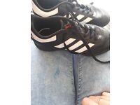 Boys size 1 adidas astros