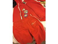 Rainbows hoody and trousers in size small bargain