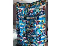 1 pair of Thomas the tank engine curtains