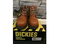 Dickies super safety tan boot size 11
