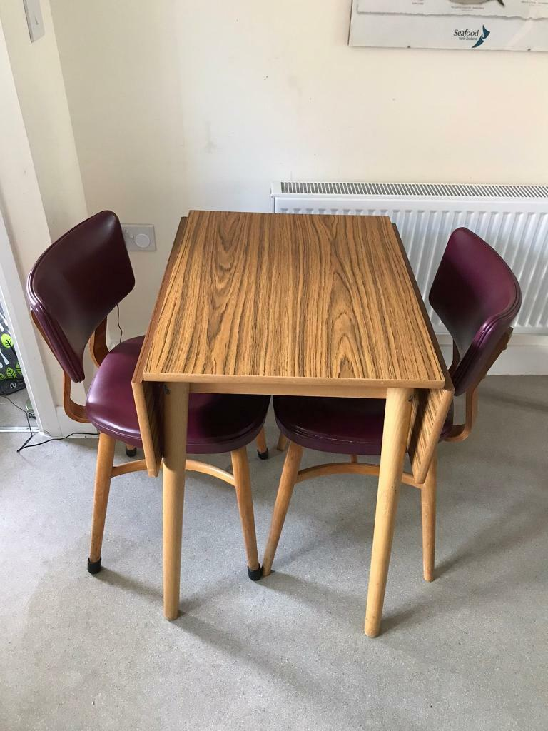 Image of: Retro Dining Table And Chairs In Didcot Oxfordshire Gumtree