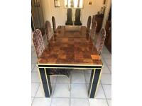 Dining Furniture Set Pieces | Dining Table | Cabinet | Side Board | Dining Chairs | Italian