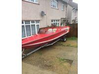 Speedboat plancraft saber