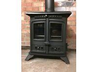 Cast Iron Multifuel Log Burner or Coal Burning Stove