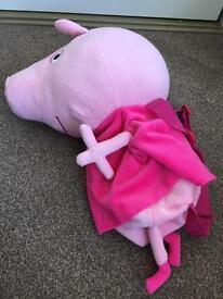Peppa pig backpack
