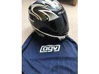 AGV E2205 airtech Motorbike Helmet