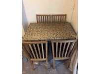 Dining table , seats 4