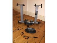 *FREE* 2 x PedalPro Magnetic Bicycle Turbo Trainer with Variable Speed Handlebar Adjuster