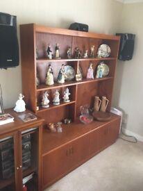 Sideboard / Dresser Real Teak Veneer