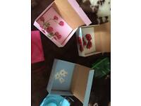 Hand painted gift boxes