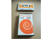 DYNAMO LOW NOISE 60 VINTAGE BLANK AUDIO CASSETTE TAPE-WHITE SHELL CAN