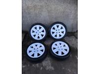 Citroen C2 GT 16 inch alloy wheels 4x108