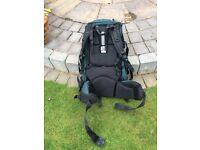 Camping/ hiking Vango rucksack,sleeping bag,mat