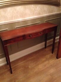 ** CHARLES BARR CONSOLE TABLE**