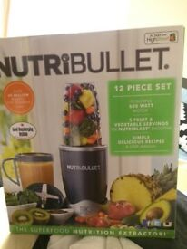Nutribullet Full 12 piece set. Comes with original box