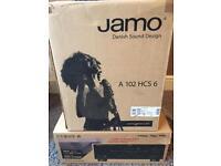 Jamo A 102 HCS 6 speakers with Yamaha rx v365 Amp