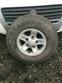 Land rover Defender Boost Alloy x1