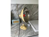 Vintage ERGON Infra-red & radiant heat lamp / desk lamp