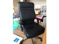 comfortable office leather chair