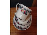 Vintage cups, saucers and side plates #4