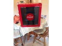 Coca-Cola mini beer fridge £50 ONO - ideal for students!