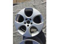 Golf GTI Mk5 17 inch alloy wheel Genuine VW 1K0601025BB