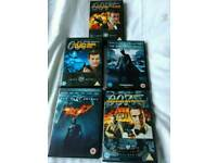 Dvds James Bond and Batman