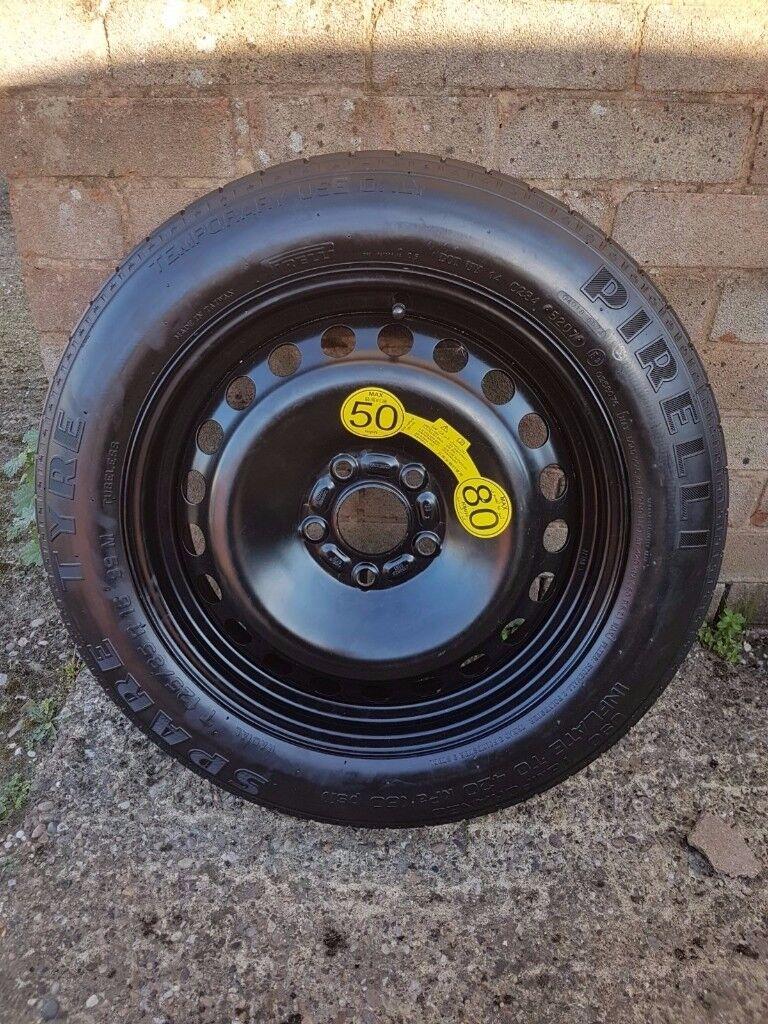 Spare wheel space saver VOLVO V50, S40, C30