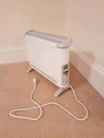 Barely used White Dimplex Essentials DESC2TN 2kW Convector Heater