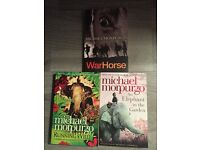 3 of Michael Morprugos' fabulous books. Brand new and in perfect condition