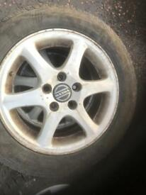 Volvo alloys wheels 15 inch 5x108 full set x4 will fit others Peugeot Citroen ect
