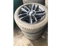 Vauxhall corsa alloys 17 inch limited edition